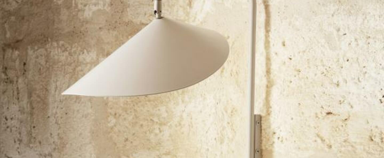 Applique murale arum wall lamp cashmere l25 6cm h46 1cm ferm living normal