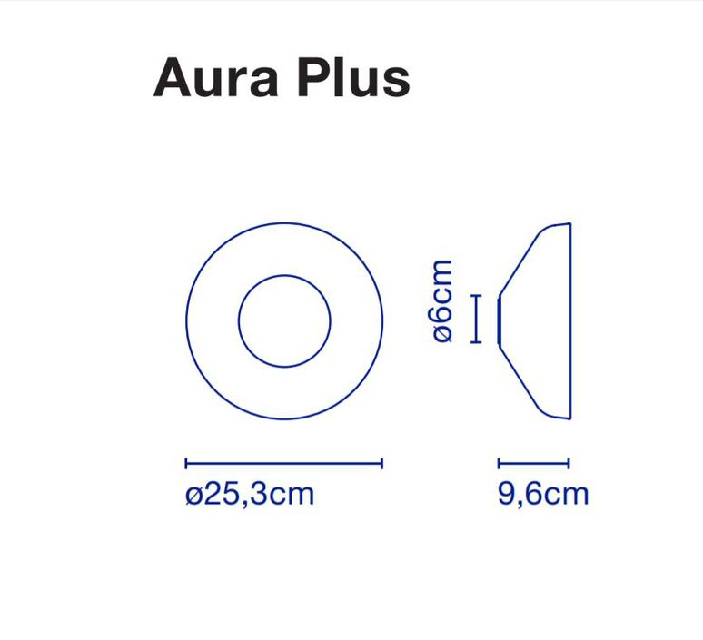Aura joan gaspar applique murale wall light  marset a676 016  design signed 54783 product
