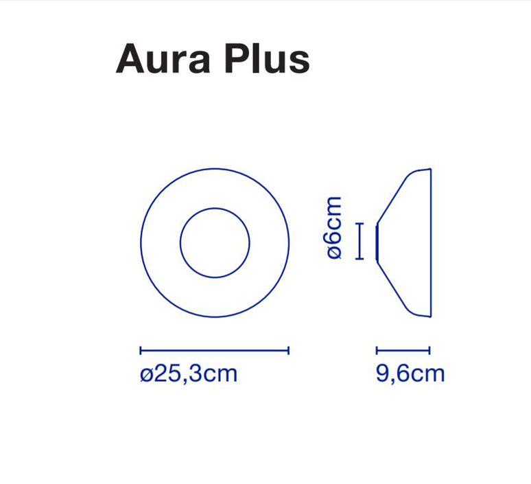 Aura joan gaspar applique murale wall light  marset a676 017  design signed 54784 product