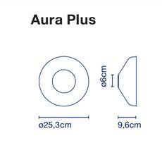 Aura joan gaspar applique murale wall light  marset a676 017  design signed 54784 thumb