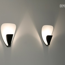 B206 michel buffet lignes de demarcation b206 noir luminaire lighting design signed 23553 thumb