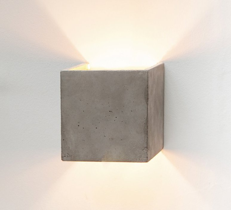 B3 dark wall light cubic stephan gants gantlights b3 wa gs luminaire lighting design signed 32075 product