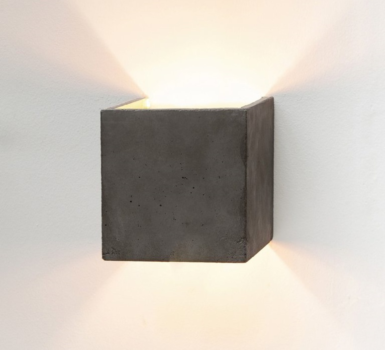 B3 dark wall light cubic stephan gants gantlights b3 wa gs luminaire lighting design signed 28455 product