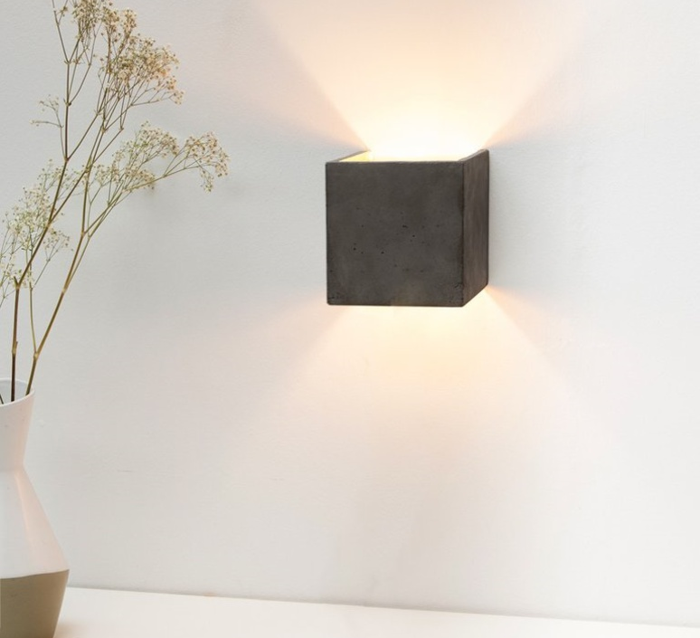 B3 dark wall light cubic stephan gants gantlights b3 wa gs luminaire lighting design signed 28456 product