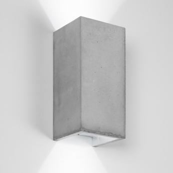 Applique murale b8 gris argent l10cm h23cm gantlights normal