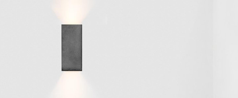 Applique murale b8 gris fonce argent l10cm h23cm gantlights normal