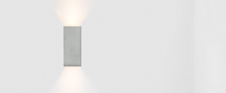 Applique murale b8 gris or l10cm h23cm gantlights normal