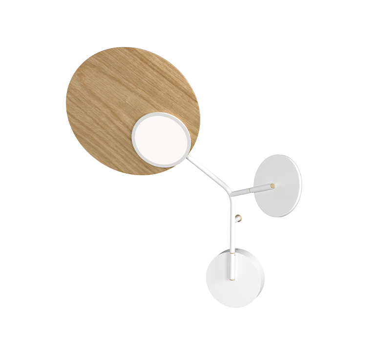 Ballon wall 3 mikko karkkainen applique murale wall light  tunto bw3 wo ls  design signed nedgis 101497 product