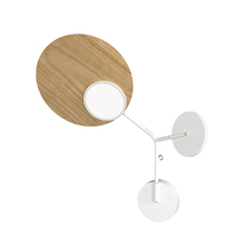 Ballon wall 3 mikko karkkainen applique murale wall light  tunto bw3 wo ls  design signed nedgis 101497 thumb