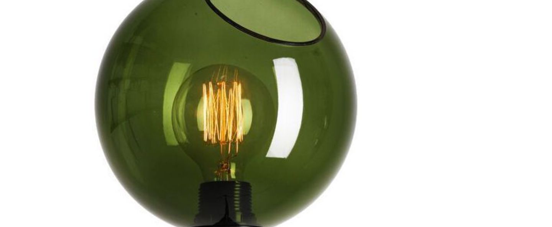 Applique murale ballroom vert o20cm h37cm design by us normal