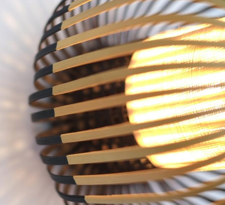 Bamboo light m black  arik levy  forestier al32190mba luminaire lighting design signed 27358 product