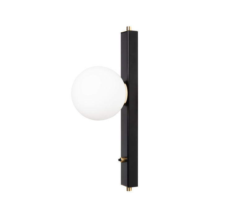 Baralum daniel gallo applique murale wall light  daniel gallo baralum noir  design signed nedgis 81490 product