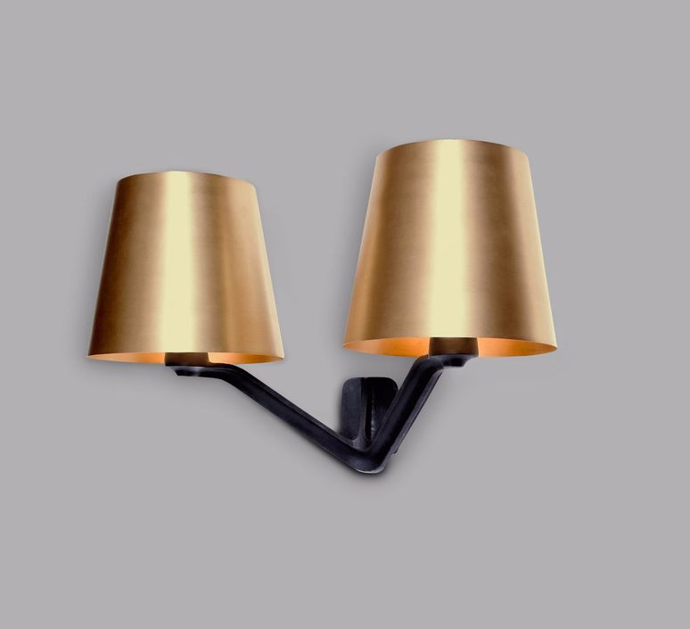 Wall light base brass black l554cm h301cm tom dixon base tom dixon applique murale wall light tom dixon bss03 weum1 design signed 36823 product mozeypictures Gallery