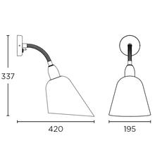 Bellevue arne jacobsen andtradition 20811394 luminaire lighting design signed 28401 thumb
