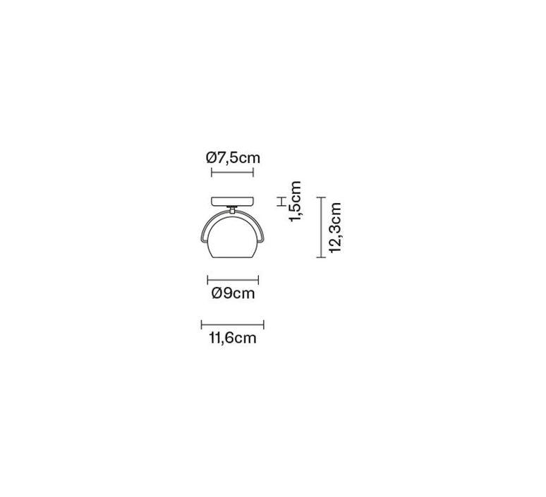 Beluga d57 marc sadler applique murale wall light  fabbian d57d07 01  design signed 40158 product