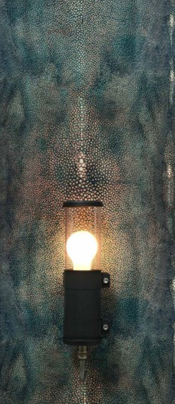 Applique murale bendz charbon ip67 o7cm h30cm sammode normal