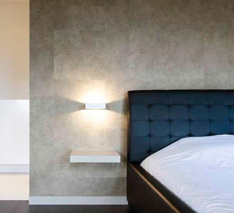 applique murale bento 1 3 blanc h4 5cm l18cm wever. Black Bedroom Furniture Sets. Home Design Ideas
