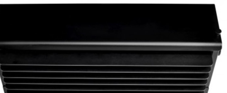 Applique murale biny box 3 noir led 2700k l27cm h11cm dcw editions normal