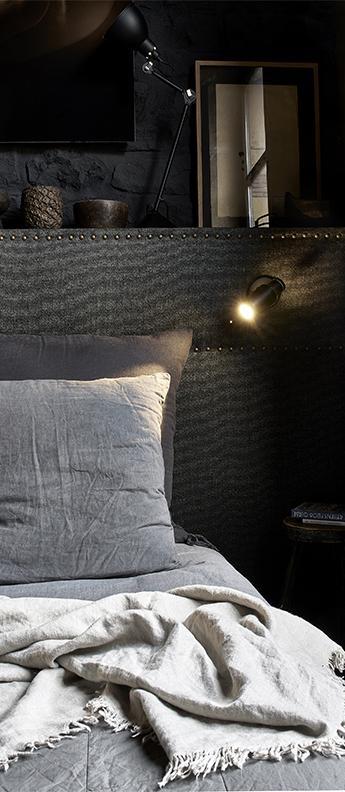 Applique murale biny spot sans interrupteur avec tige noir led 2700k 62lm l9 6cm h15 4cm dcw editions paris normal