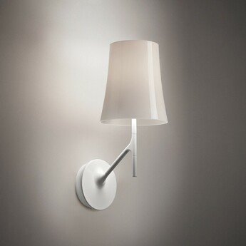 Applique murale birdie blanc l17cm h42cm foscarini normal
