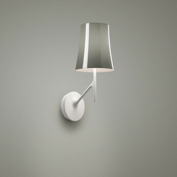 Applique murale birdie gris l17cm h42cm foscarini normal