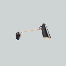 Birdy birger dahl northern lighting birdy wall black brass luminaire lighting design signed 22271 thumb