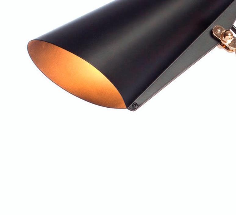 Birdy birger dahl northern lighting birdy wall black brass luminaire lighting design signed 22272 product
