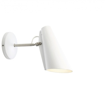 Applique murale birdy s blanc metal h19cm northern lighting normal