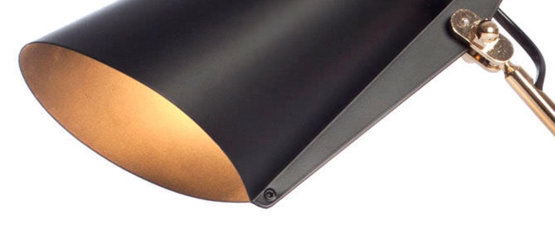 Applique murale birdy s noir laiton h19cm northern lighting normal