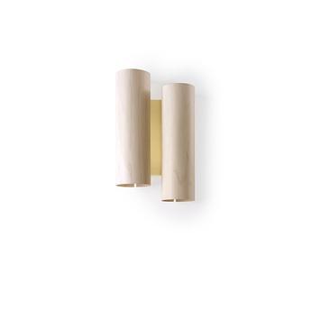 Applique murale black note du ivoire metal finition or led 3000k 2884lm l20cm h34cm lzf normal