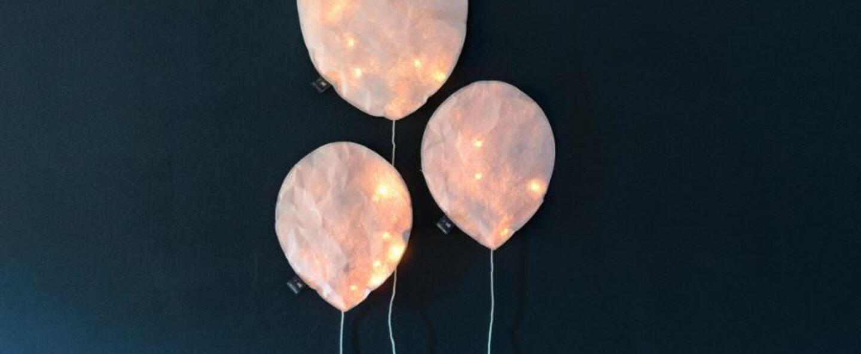 Applique murale blush pink lighting balloon small rose o22cm h26cm ekaterina galera normal