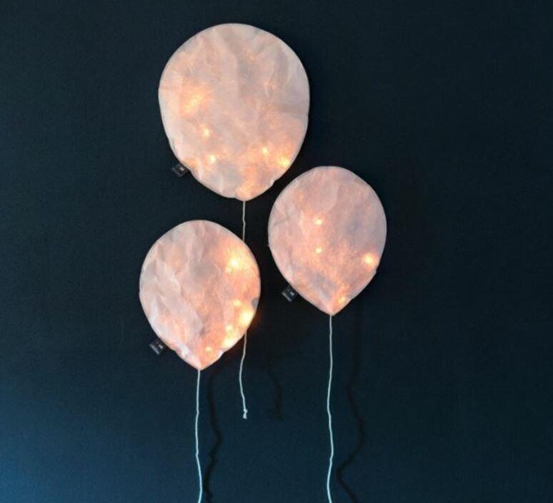Blush pink lighting balloon small ekaterina galera applique murale wall light  ekaterina galera blushpinklightingballoon s  design signed nedgis 87829 product