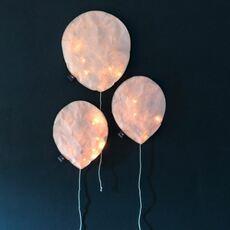 Blush pink lighting balloon small ekaterina galera applique murale wall light  ekaterina galera blushpinklightingballoon s  design signed nedgis 87829 thumb