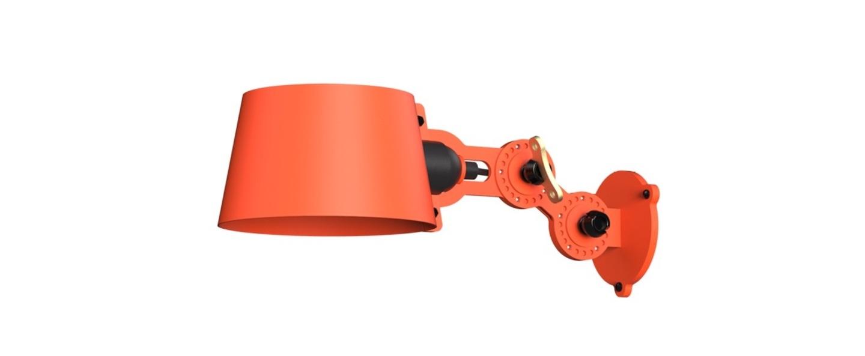 Applique murale bolt side fit mini orange vif l23 1cm h9cm tonone normal