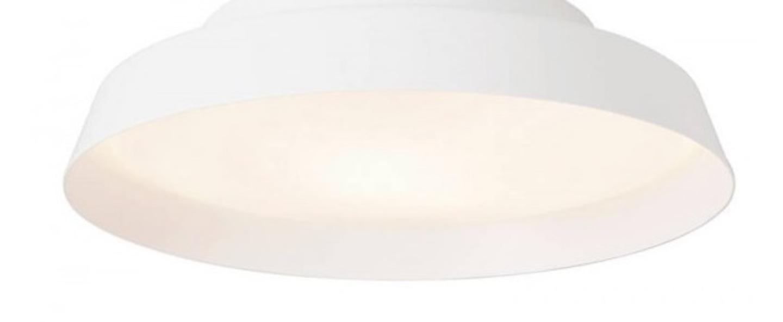 Applique murale boop blanc led 3000k 2890lm o37cm p10cm carpyen normal