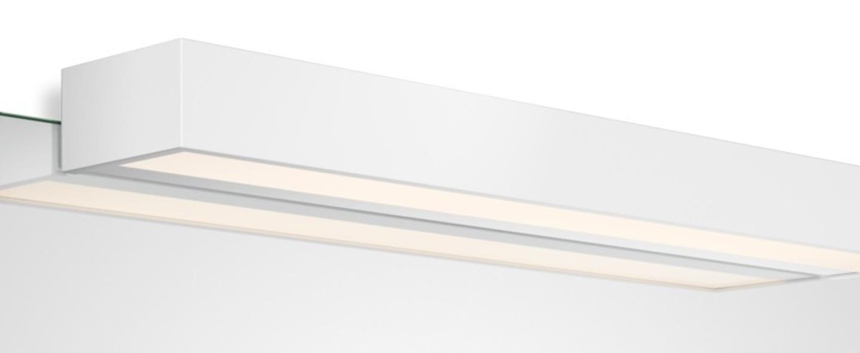 Applique murale box 1 60 n led blanc mat led 2700k 4840lm l60cm h5cm decor walther normal