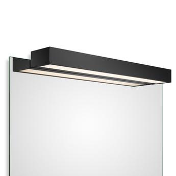 Applique Murale Pour Miroir Box 1 60 N Led Noir Mat Led 2700k 4840lm L60cm H5cm Decor Walther Luminaires Nedgis