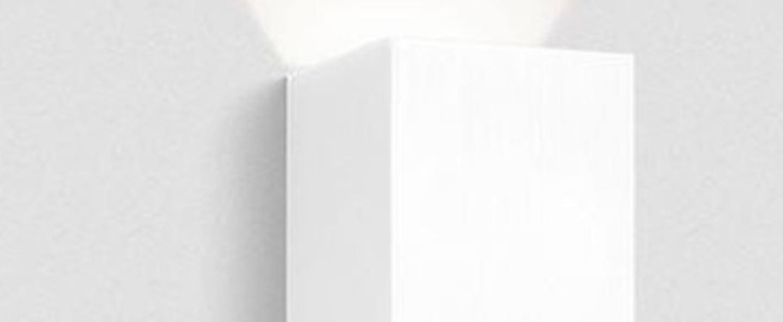 Applique murale box 3 0 led ip65 blanc led 3000k 180lm l10cm h16cm wever ducre normal