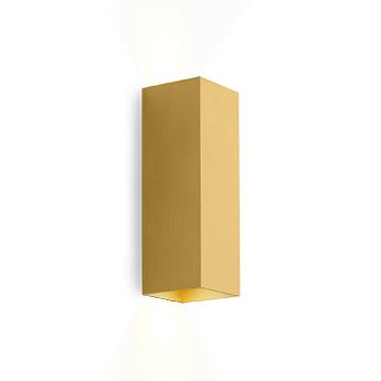 Applique murale box mini 2 0 or led k lm l6 7cm h20cm wever ducre normal