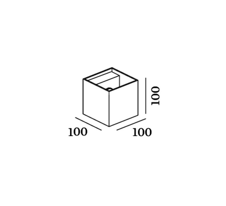 Box studio wever ducre wever et ducre 3211g0g0 3000k 9019g704 luminaire lighting design signed 27057 product