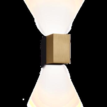 Applique murale box or brosse h16cm wever ducre normal