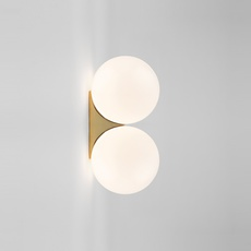 Brass architecturale double sconce michael anastassiades applique murale wall light  anastassiades ma ds150 pb   design signed 39712 thumb