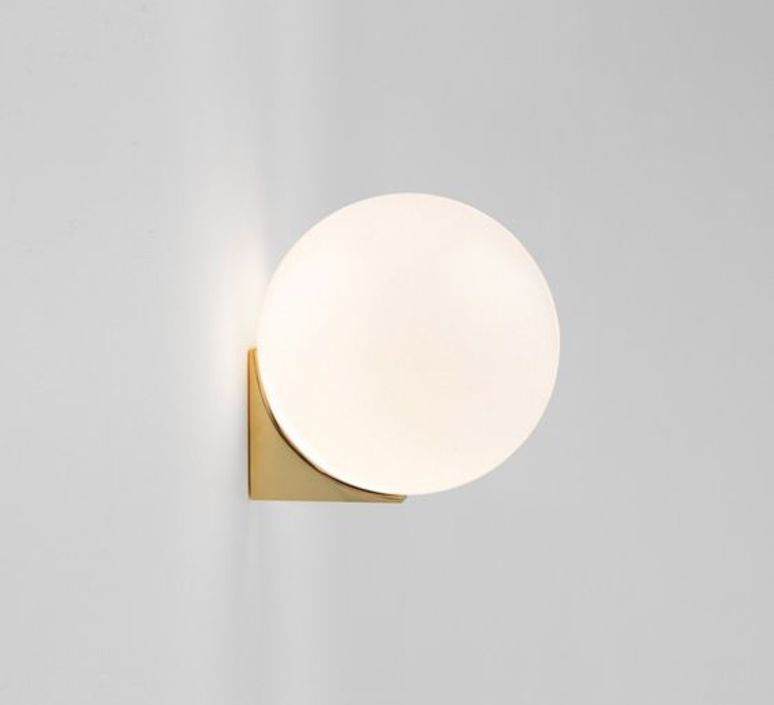 Wall light brass architecturale sconce white and brass 15cm brass architecturale sconce michael anastassiades applique murale wall light anastassiades ma ss150 pb design signed 39710 aloadofball Choice Image