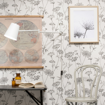 Applique murale brisbane blanc l92cm h26cm it s about romi normal