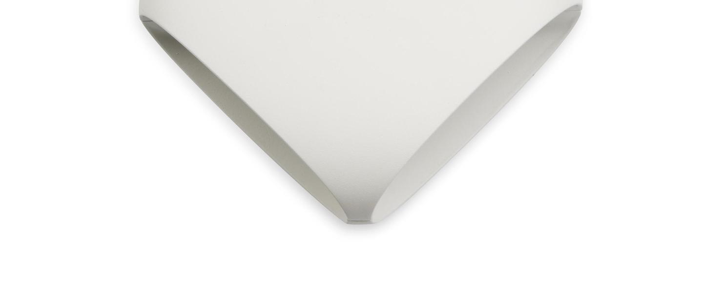 Applique murale bu oh blanc h15 5cm faro normal