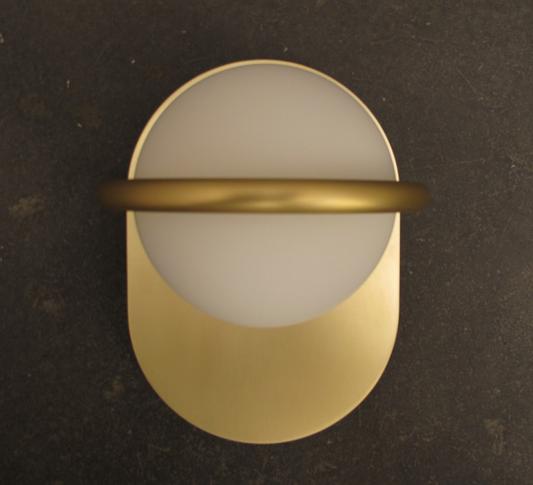 C ball w1 stone designs applique murale wall light  blux 748410  design signed 46985 product