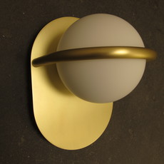 C ball w1 stone designs applique murale wall light  blux 748410  design signed 46986 thumb
