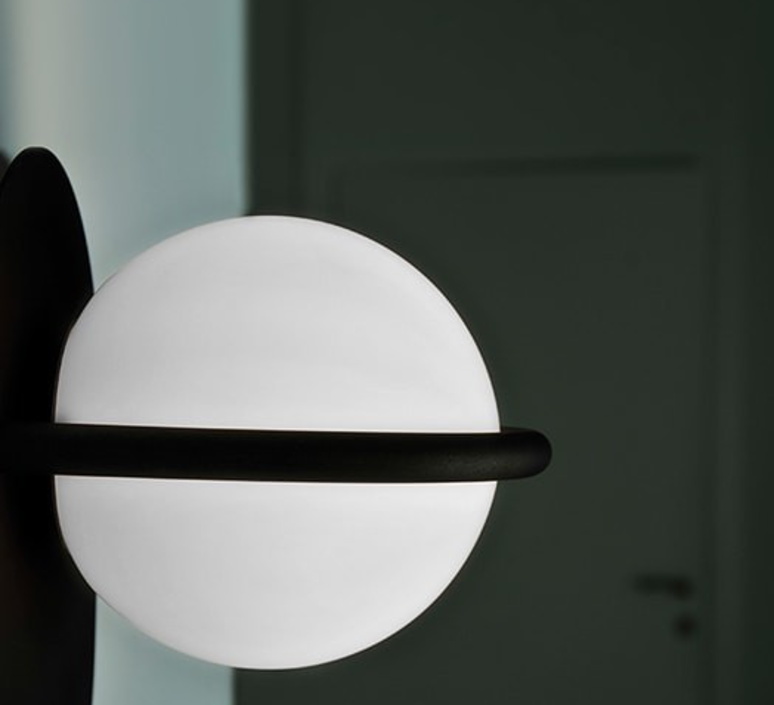 C ball w1 front designs applique murale wall light  b lux 748415  design signed 39473 product