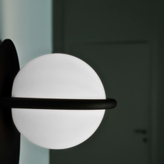 C ball w1 front designs applique murale wall light  b lux 748415  design signed 39473 thumb