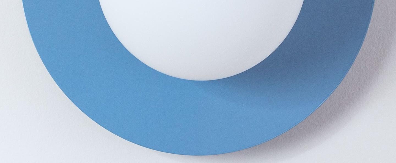 Applique murale c lamp big bleu ciel l37cm h30cm swedish ninja normal